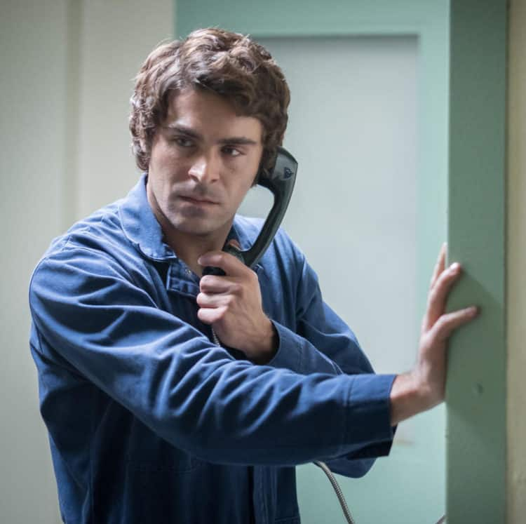Zac Efron as Ted Bundy in EXTREMELY WICKED, SHOCKINGLY EVIL AND VILE review