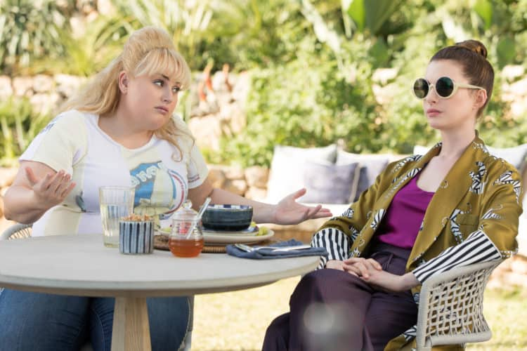 Rebel Wilson Anne Hathaway The Hustle Parent movie review