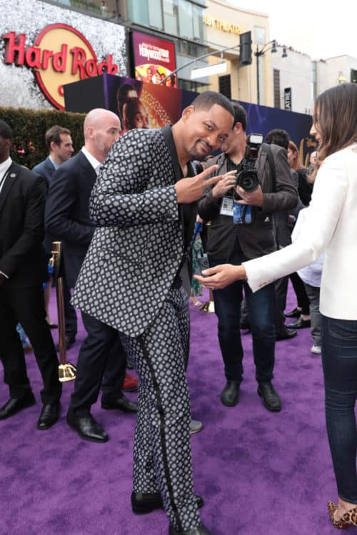 Will Smith attends the World Premiere of Disneys Aladdin