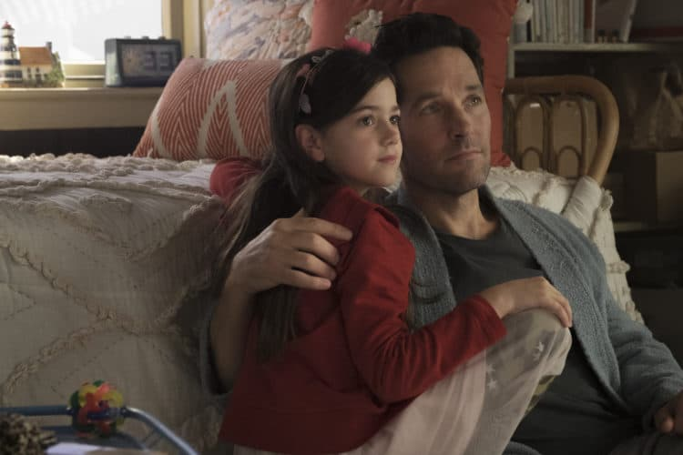 Marvel Studios ANT-MAN AND THE WASP..L to R: Cassie Lang (Abby Ryder Fortson) and Ant-Man/Scott Lang