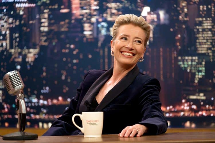 emma thompson late night movie review