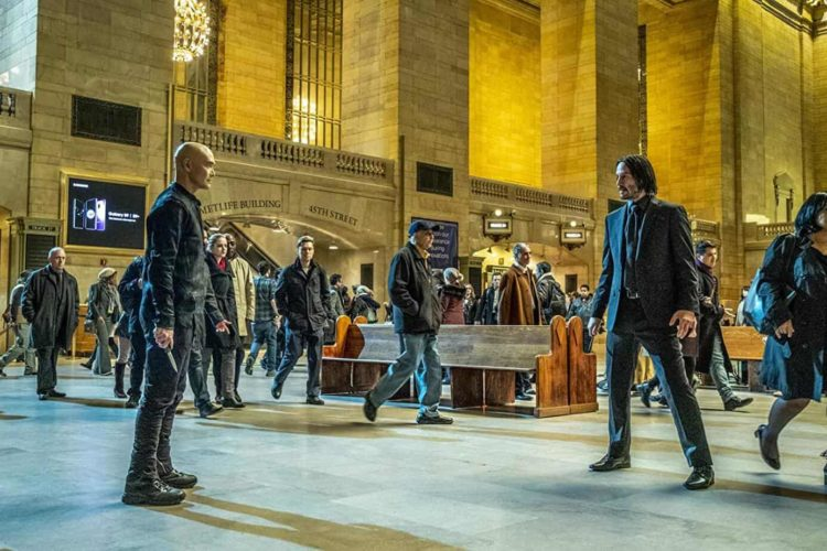 john wick 3 parent movie review fight scene in grand central station