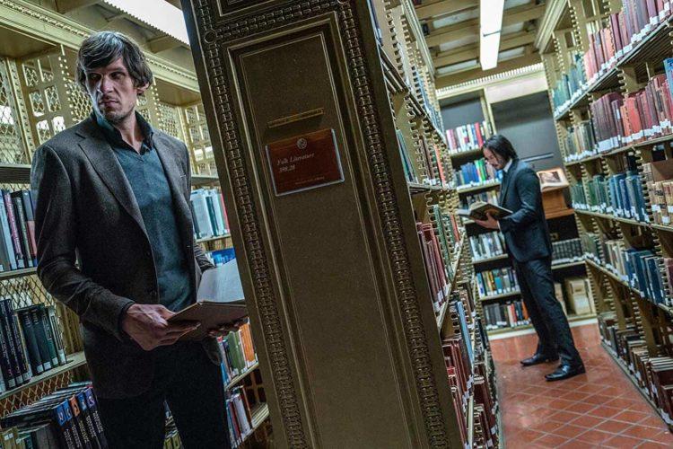 John Wick 3 library scene