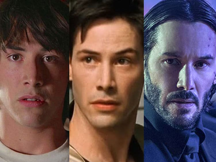 Keanu Reeves and the Keanussance
