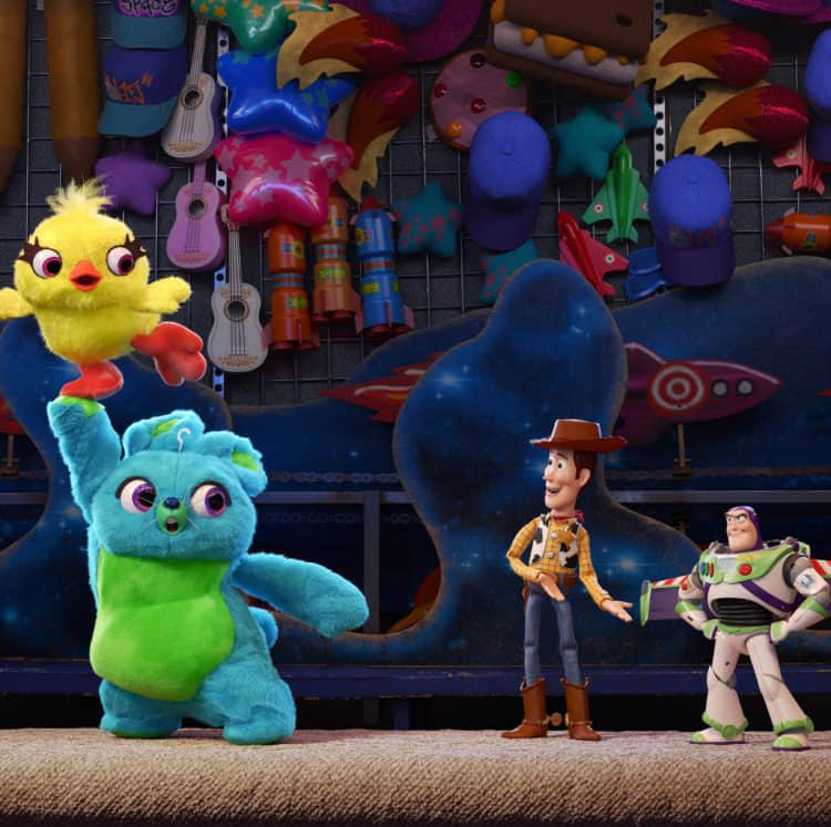 Ducky and Bunny Toy Story 4 kid friendly