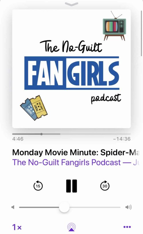 no-guilt fangirls podcast monday movie minute