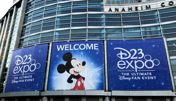 D23 Expo Signage