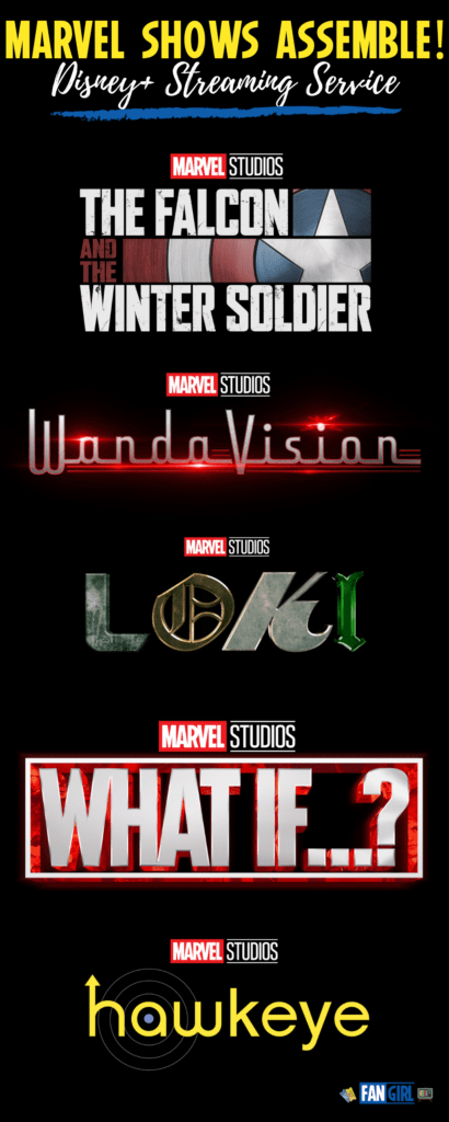 Marvel Phase 4 coming to Disney+ Streaming Service Release Dates