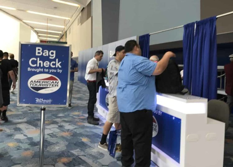 D23 Expo Packing list tip: use bag check if needed!