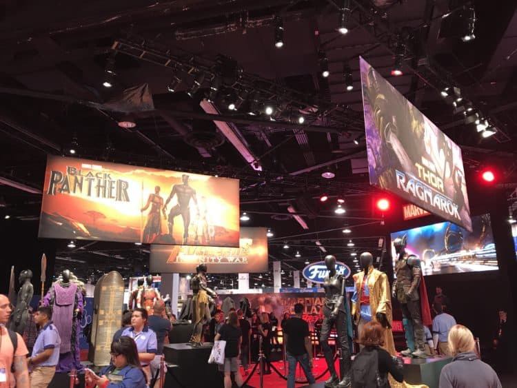 Marvel Pavillion D23 Expo 2017