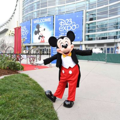 Mickey Mouse at D23 Expo