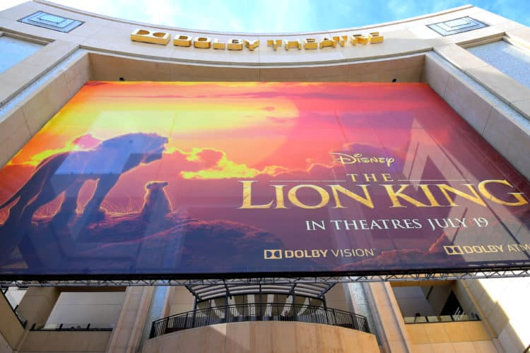 "The World Premiere Of Disney's ""THE LION KING"" Dolby Theatre"