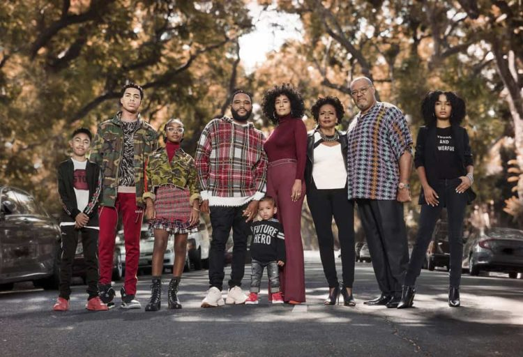 MILES BROWN, MARCUS SCRIBNER, MARSAI MARTIN, ANTHONY ANDERSON, AUSTIN/BERLIN GROSS, TRACEE ELLIS ROSS, JENIFER LEWIS, LAURENCE FISHBURNE, YARA SHAHIDI cast of Black-Ish coming to D23 Expo