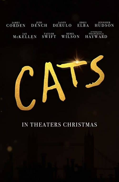 cats movie poster 2019 Sand Diego Comic Con trailers