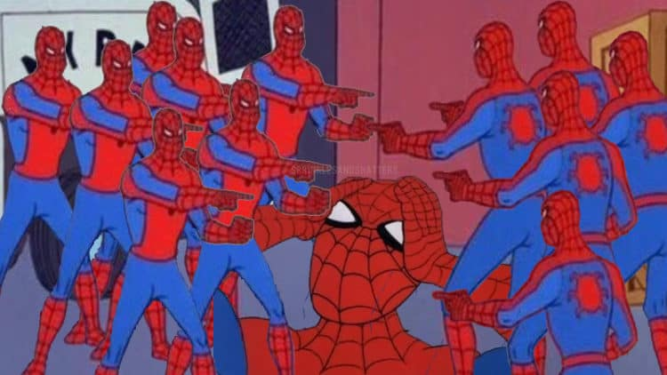 spider-man far from home memes spoilers without context