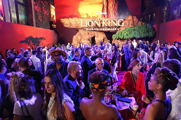 After party lion king world premiere