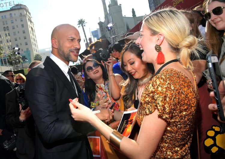HOLLYWOOD, Keegan-Michael Key Lion King Red Carpet Premiere