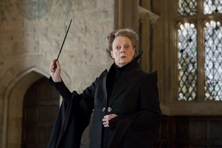 Professor McGonagall harry potter spells