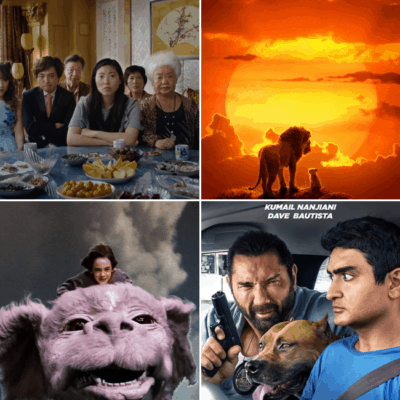 The Farewell, The Lion King, The Never Ending Story, Stuber