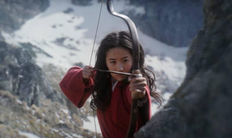 Disney's MULAN..Mulan (Yifei Liu).