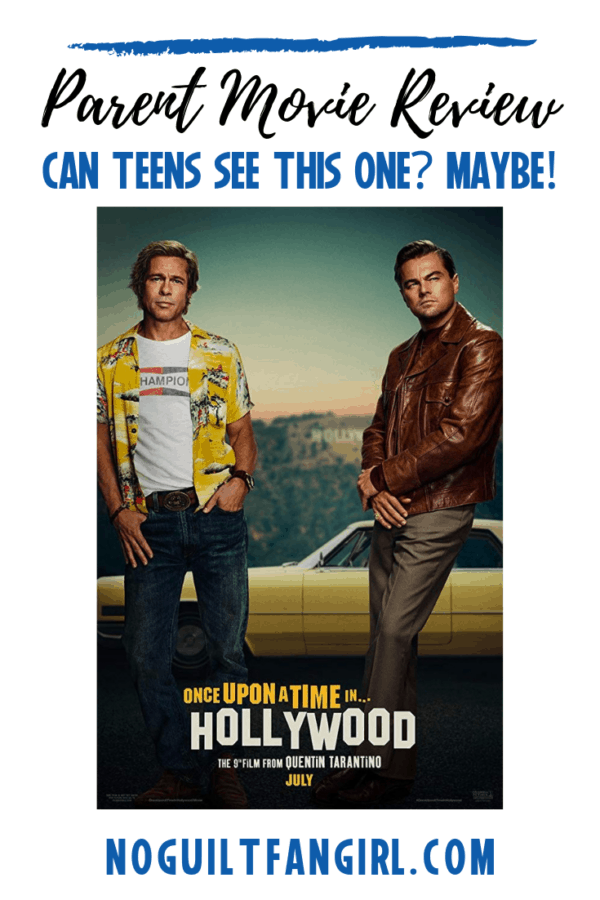 once upon a time in hollywood parent movie review