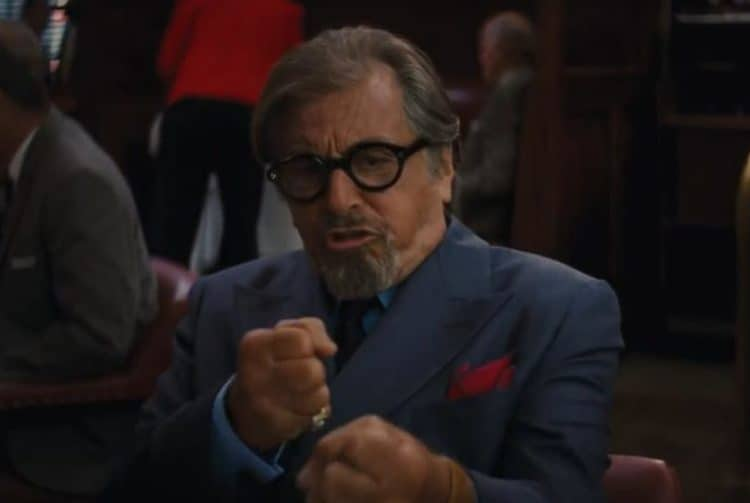 Al Pacino in Once Upon a time in hollywood