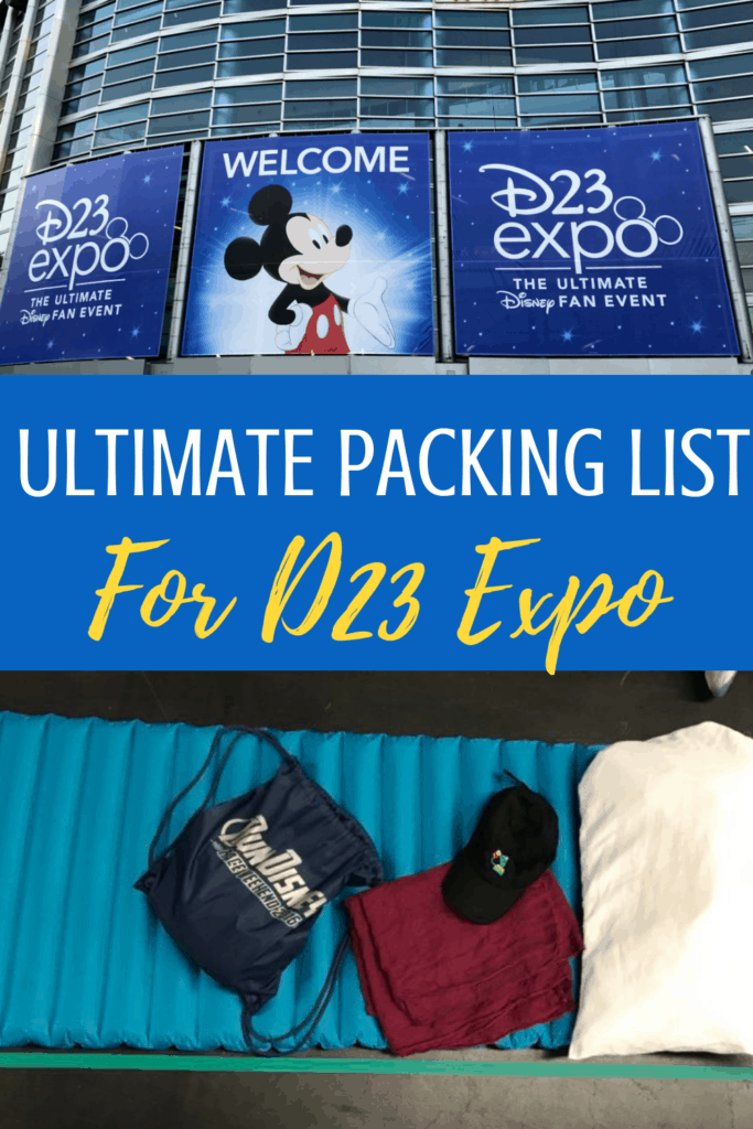 The Ultimate D23 Expo Packing List