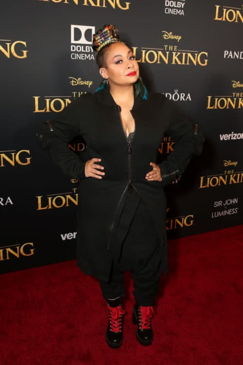 Raven-Symone Lion King Red Carpet