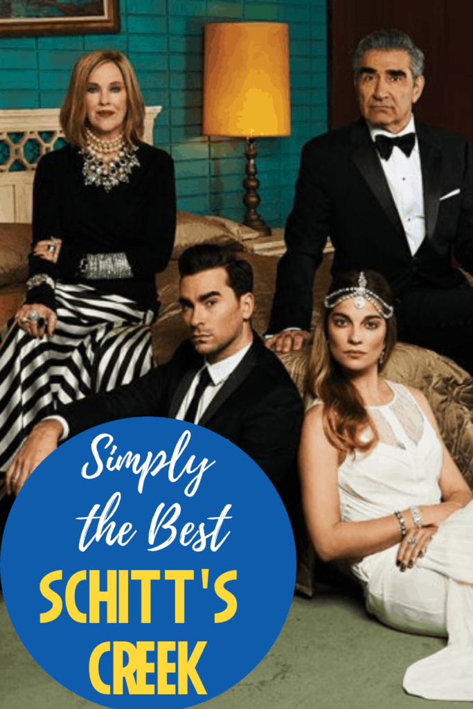 Fangirling the Emmy nominated Schitt's Creek on the podcast