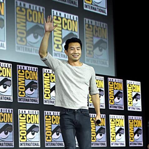 shang-chi Simu Liu at Comic-Con