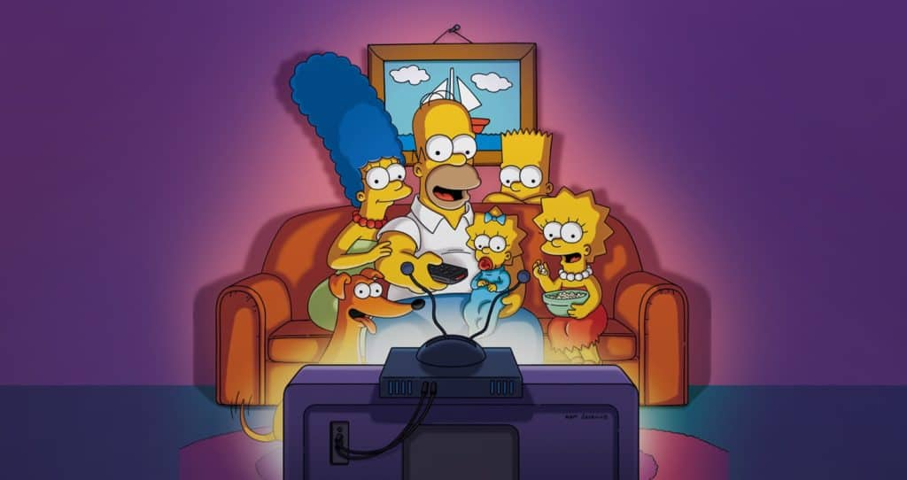 simpsons coming to disney plus at D23 Expo