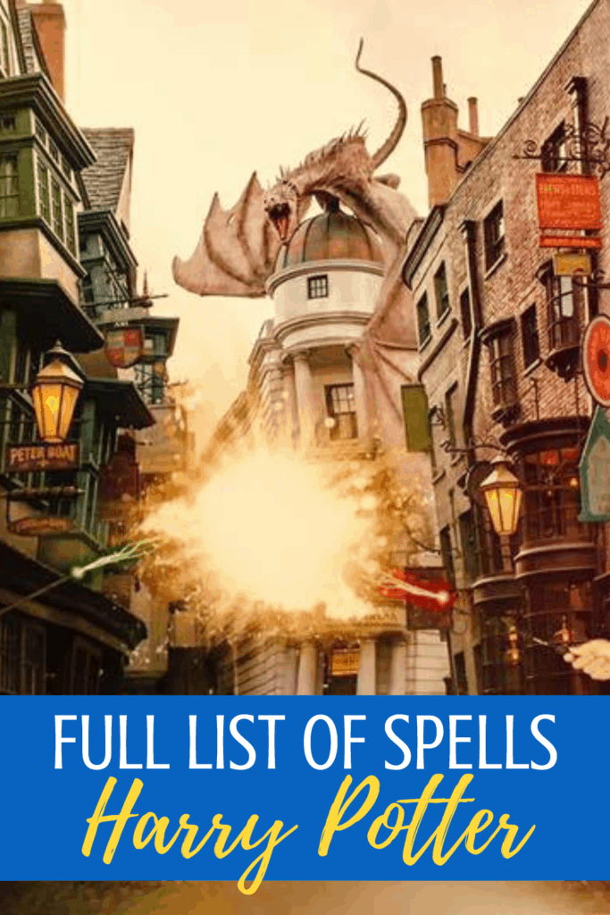 List of all the Harry Potter Spells. Plus the meanings!