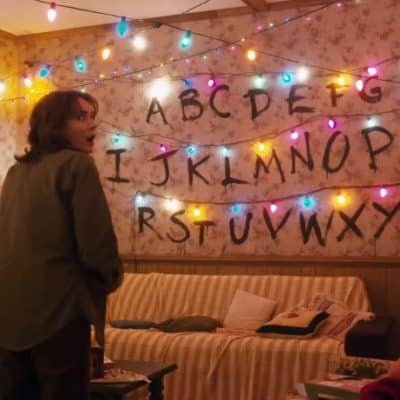 Stranger Things: Alphabet Wall Brownies