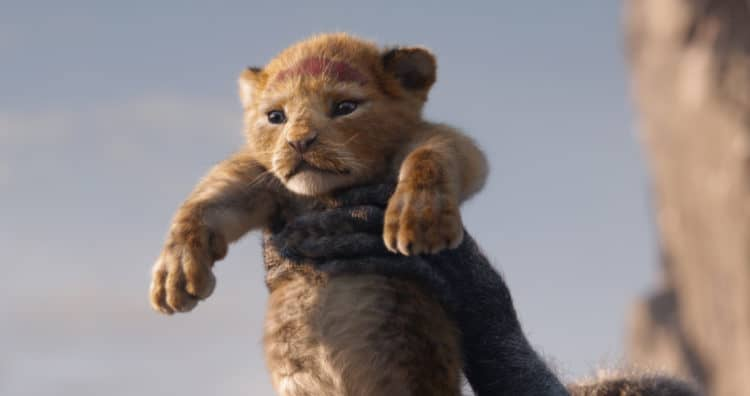 "A FUTURE KING IS BORN – In Disney's all-new ""The Lion King,"""