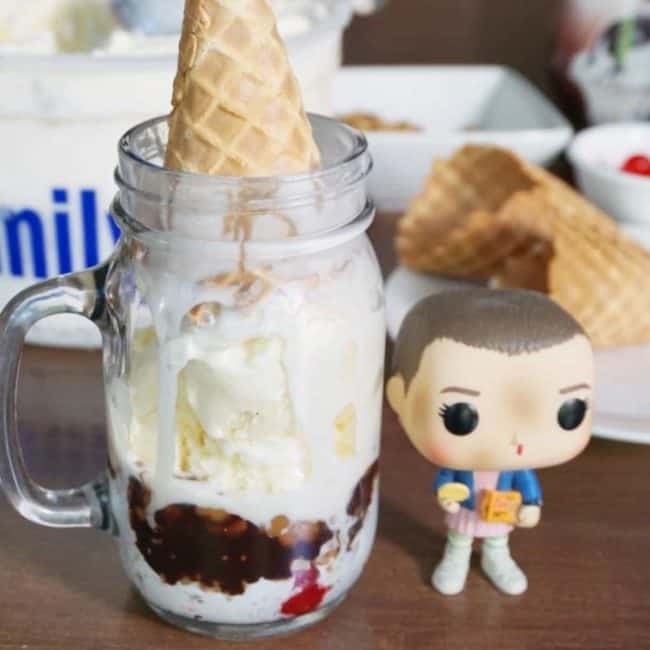 upside down sundae stranger things