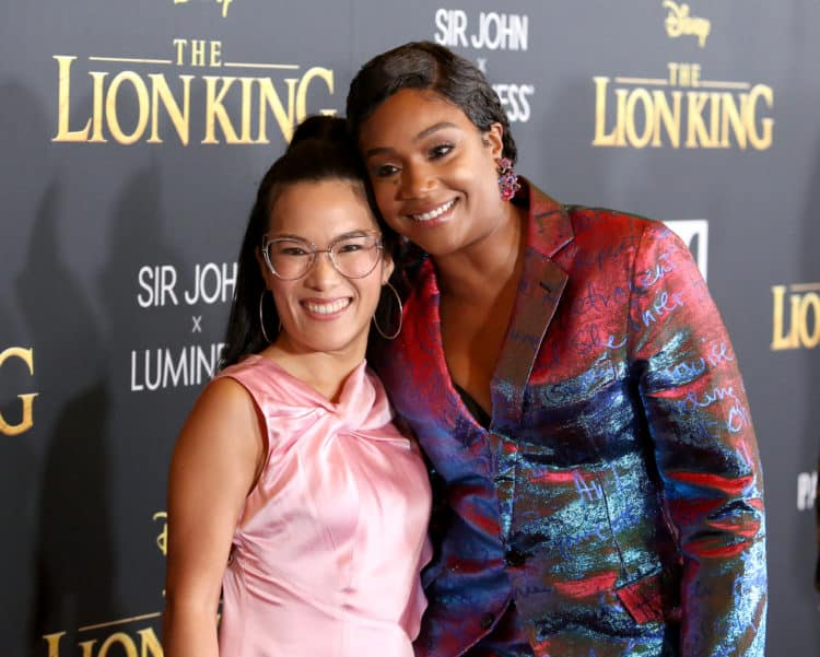 Ali Wong and Tiffany Haddish Lion King Red CArpet