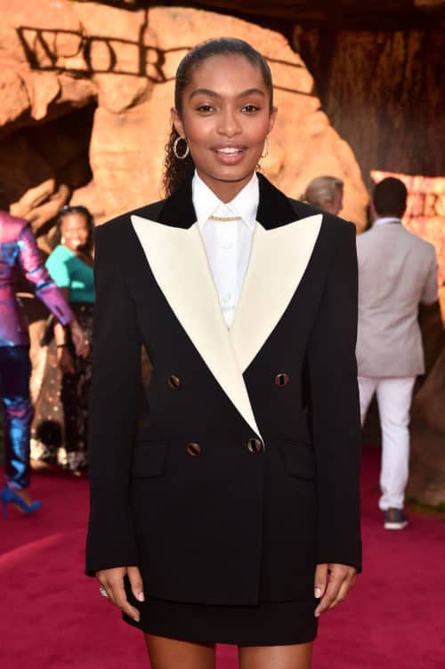 "The World Premiere Of Disney's ""THE LION KING"" Yara Shahidi"