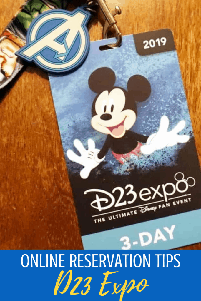 """Disney is known to """"plus"""" things and the D23 Expo Online Reservations are just another way to plus the experience. You can register for advance spots in your favorite panels starting on Friday an here are the D23 Expo Online Reservation Tips you'll need to know! #d23expo #d23expotips"""