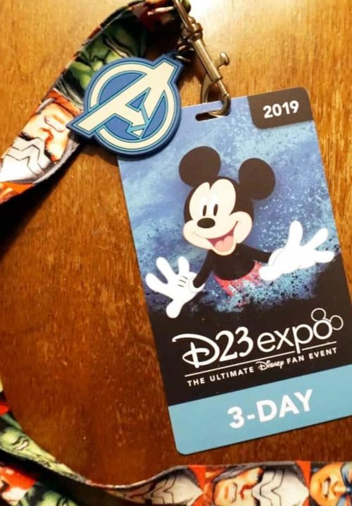 2019 D23 Expo Badge