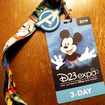 2019 D23 Expo Badge Activation Steps