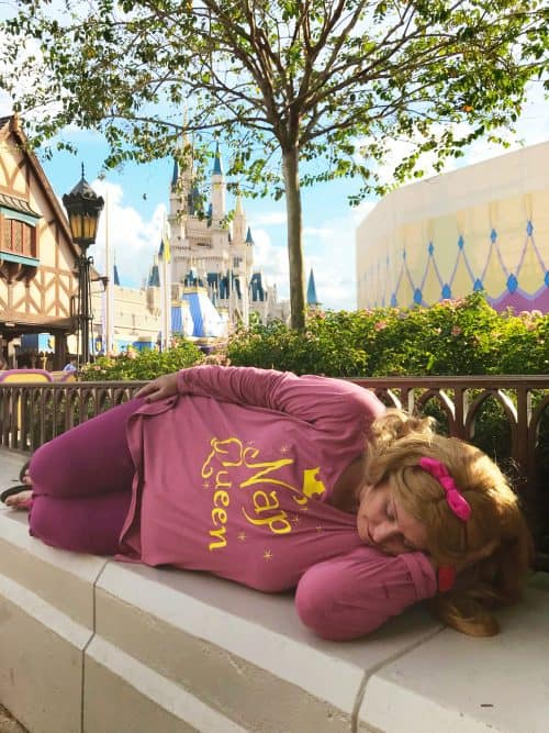Sleeping beauty wreck it Ralph cosplay