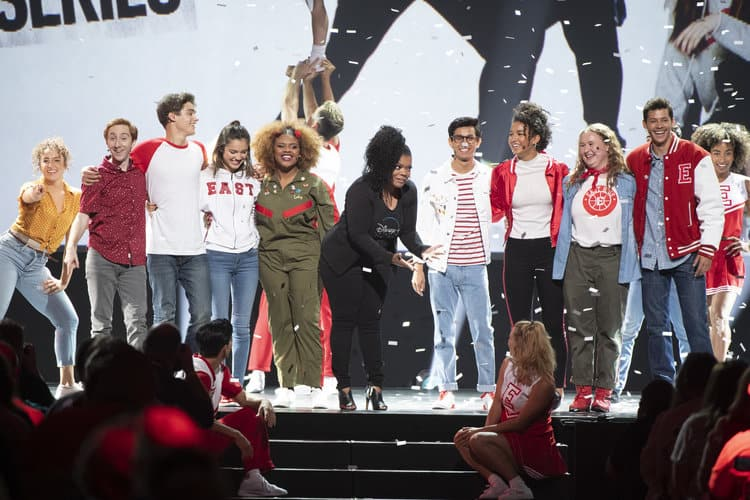 CAST OF HIGH SCHOOL MUSICAL: THE MUSICAL: THE SERIES, YVETTE NICOLE BROWN D23 Expo Disney Plus Panel