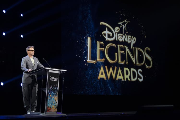 ROBERT DOWNEY JR. D23 Expo Legends Ceremony