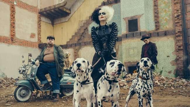 First look Emma Thompson Cruella