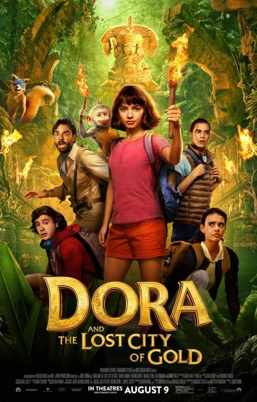 Dora and the lost city of gold parent movie review