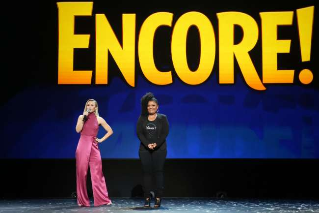Disney Plus day 1 list: encore! d23 expo with Kristen Bell and Yvette Nicole Brown on stage