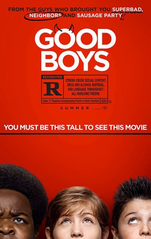 Good Boys Movie Poster Parent Movie Review