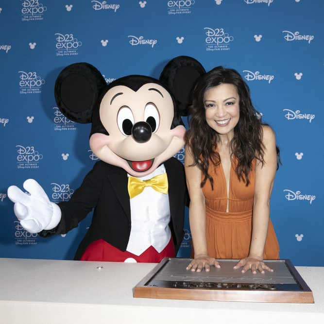 MICKEY MOUSE, MING-NA WEN D23 Expo Disney Legends Ceremony