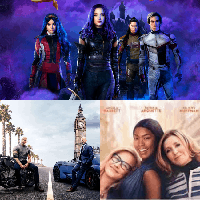 Descendants 3 review, Hobbs and Shaw review, Otherhood review
