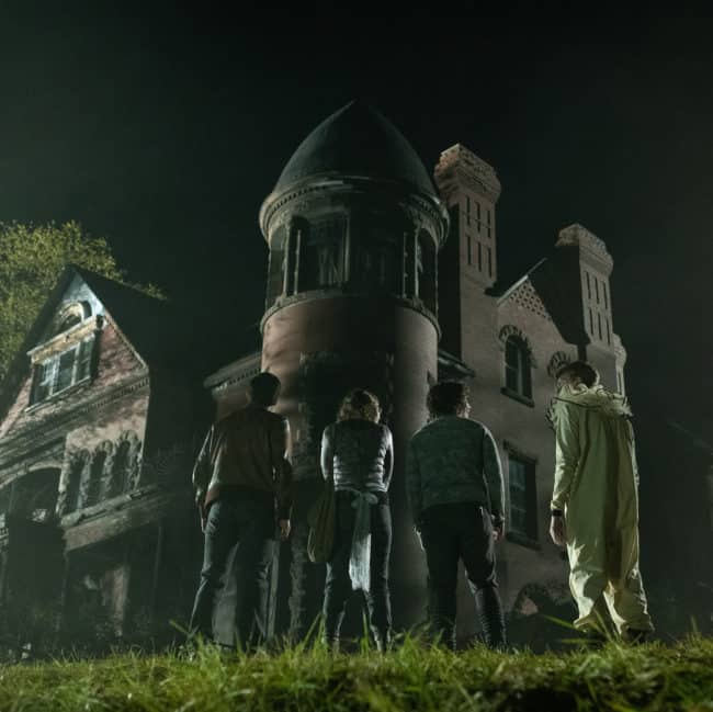 Bellows Haunted Mansion in Scary Stories to Tell in the Dark Easter Eggs
